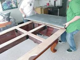 Pool table moves in Danbury Connecticut